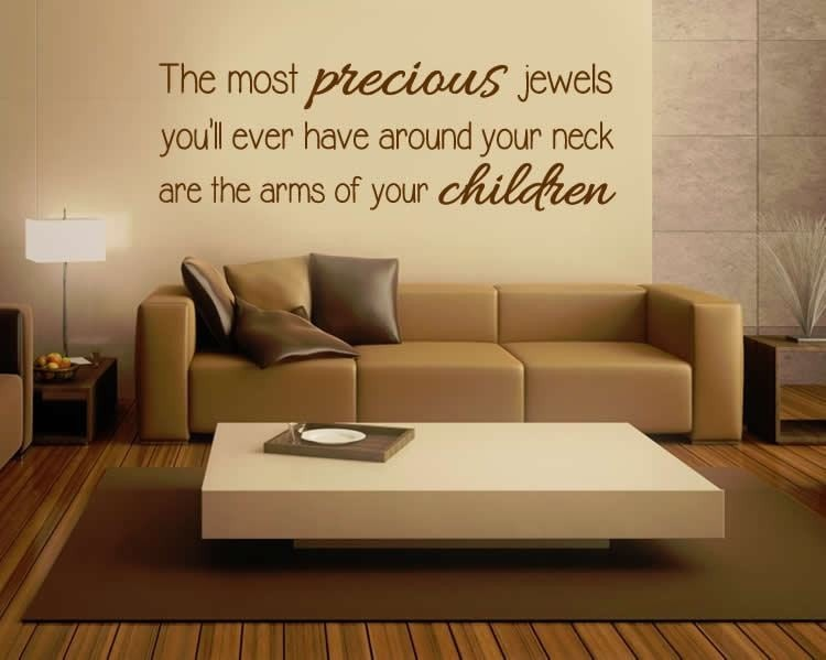 The Most Precious Jewels Wall Sticker - Wall Chick