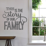 This is The Story Wall Sticker - Wall Chick