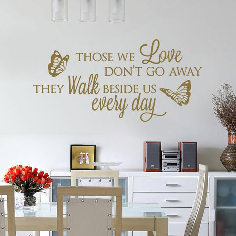 Those We Love Wall Sticker - Wall Chick