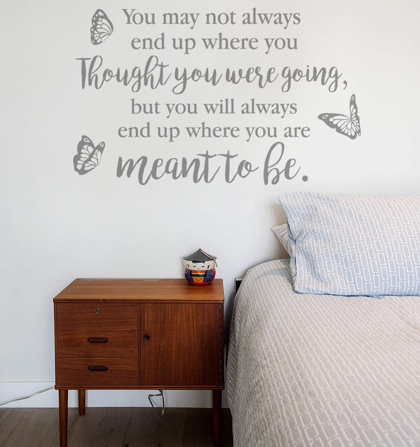 Thought You Were Going Wall Sticker