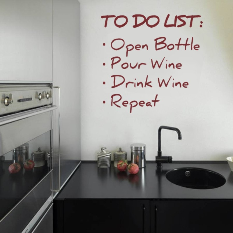 To Do List Wall Sticker - Wall Chick