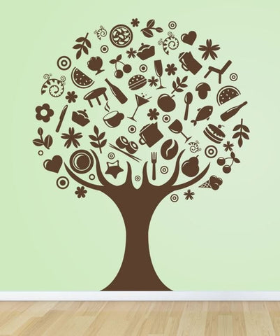 Abstract Tree Wall Sticker - Wall Chick