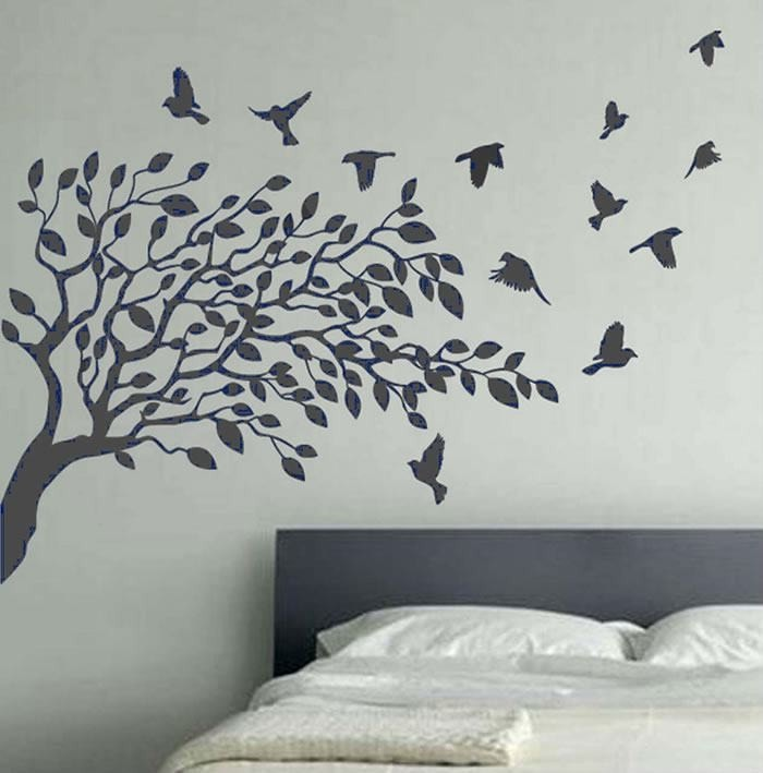 Tree with Birds Wall Sticker - Wall Chick