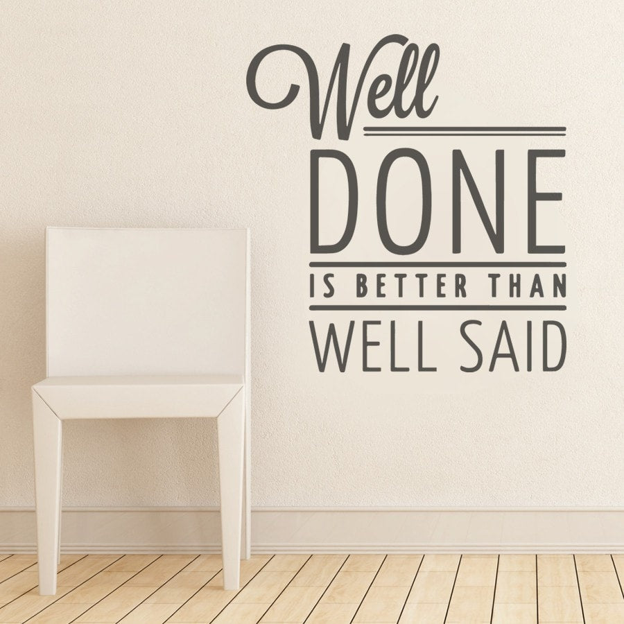 Well Done Wall Sticker - Wall Chick