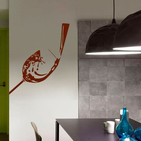 Wine Pouring Wall Sticker - Wall Chick