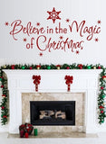Believe in the Magic of Christmas Wall Sticker Wall Sticker - Wall Chick