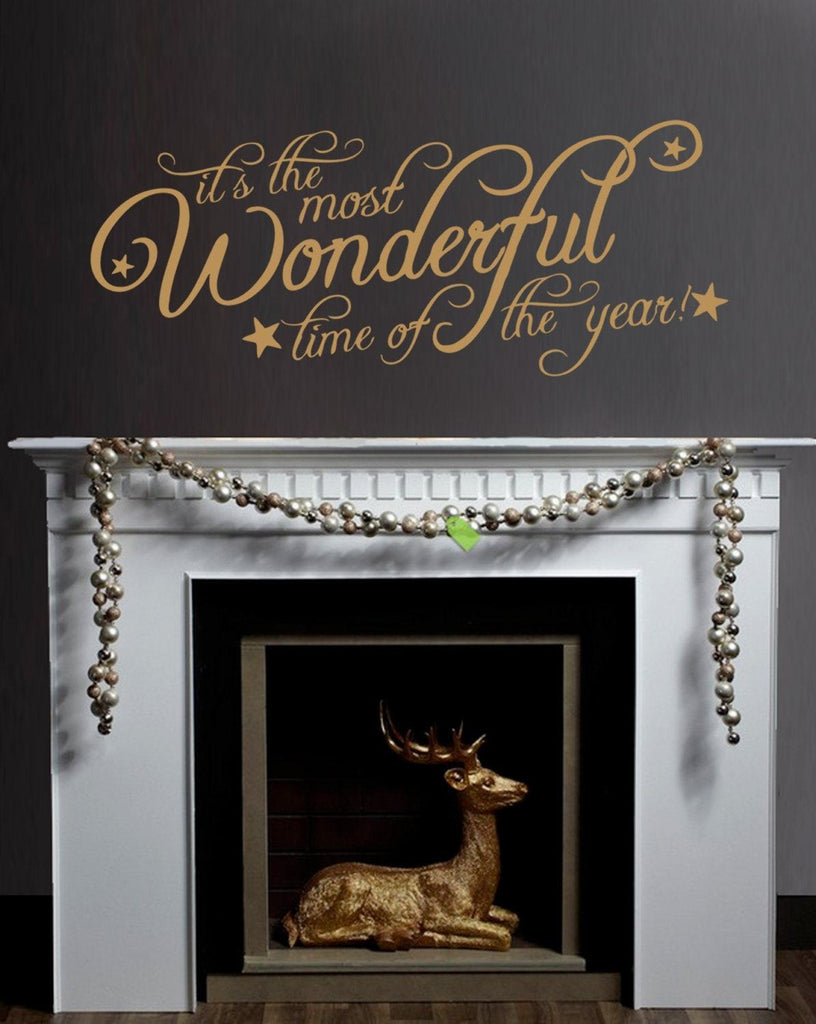 Most Wonderful Time of the Year Wall Sticker - Wall Chick