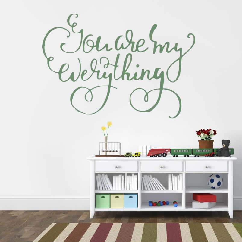 You Are My Everything Wall Sticker