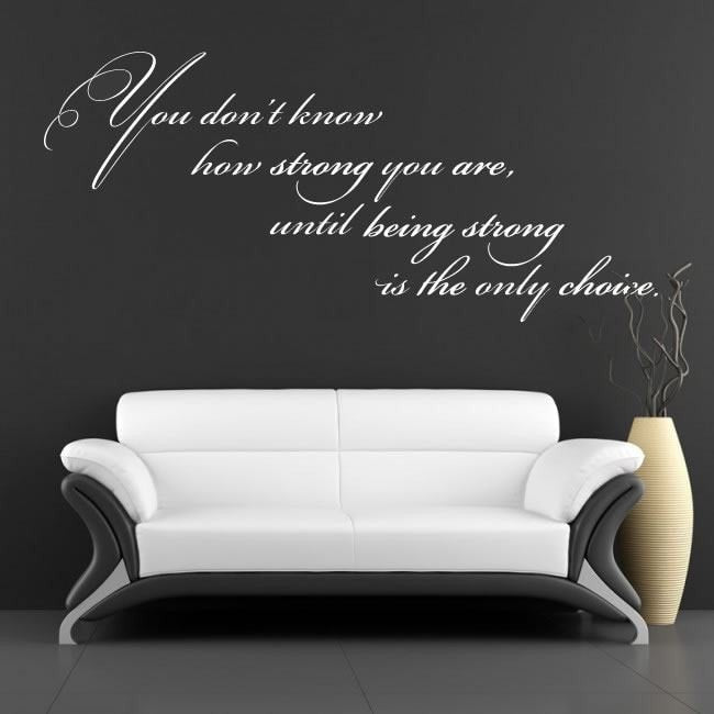 You Don't Know Wall Sticker - Wall Chick