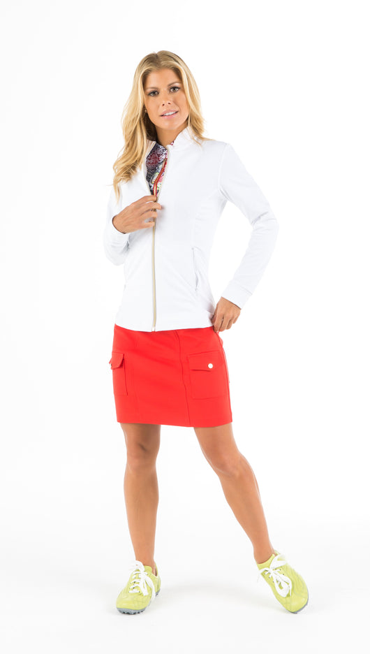 Jems Jacket - White - Amy Sport
