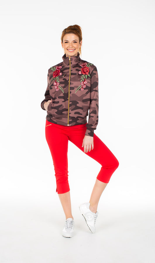 Limited Edition - Danni Bomber Jacket Camo - Amy Sport
