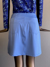 Monarch Beach Golf Skort - Light Blue - Amy Sport