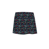 MARISSA  PLEATED SKORT - Graffiti Black - Spitfire Petite