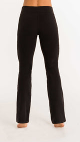 ESSENTIAL BOOT-CUT PANT - Black - Spitfire Petite