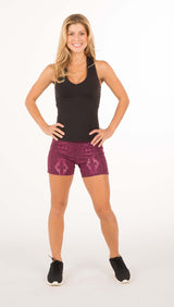 AMY SIGNATURE RACERBACK TANK WITH BRA - Indigo, Black or Magenta