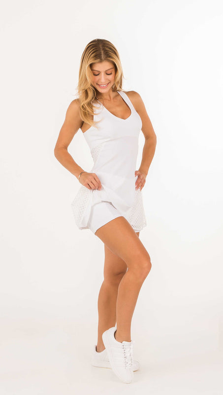 GRAND SLAM RACERBACK TENNIS DRESS