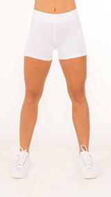 PERFORMANCE SHORTS - Black, White - Spitfire Petite