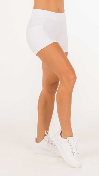 Performance Shorts - Black, White - Amy Sport