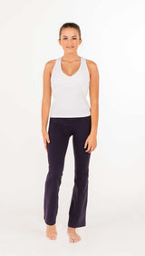 Essential Boot-Cut Pant - Indigo - 3 LEFT - Amy Sport