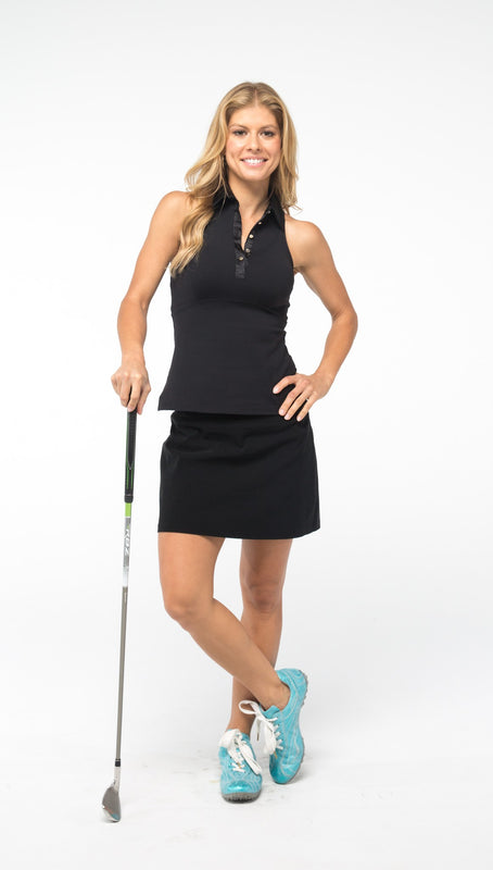 RACERBACK GOLF POLO SHIRT