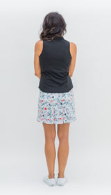 MARISA PLEATED SKORT - Graffiti Grey - 3 LEFT - L, XL - Spitfire Petite