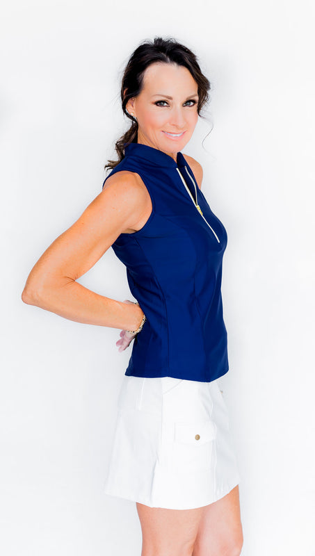 FRONTLINE 2.0 SLEEVELESS TOP - GALAXY - Spitfire Petite