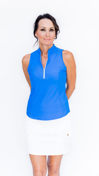 Frontline 2.0 Sleeveless Top - Milos - Amy Sport