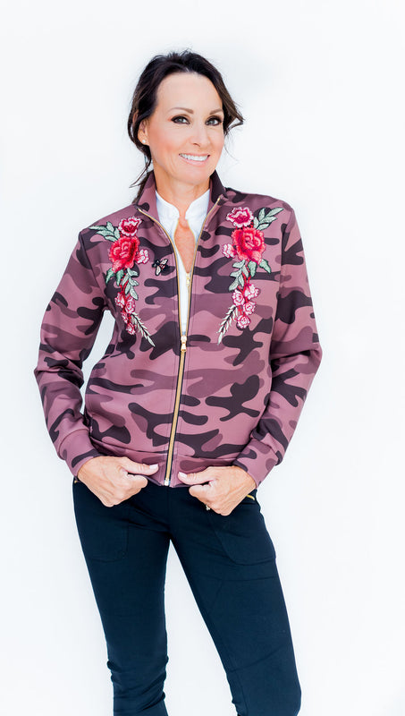 LIMITED EDITION - DANNI BOMBER JACKET - CAMO - Spitfire Petite