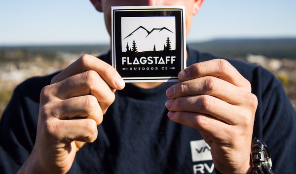 Flagstaff Outdoor Co. Stickers (5 count)