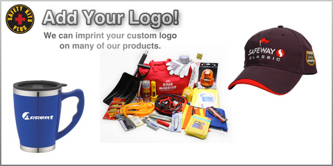 Add your logo to safety products