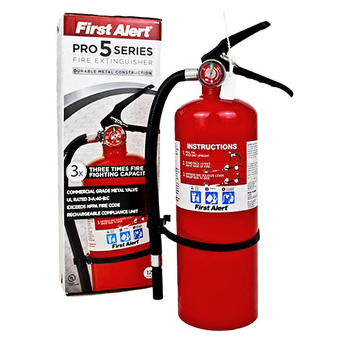 First Alert 5lb. Heavy Duty Fire Extinguisher