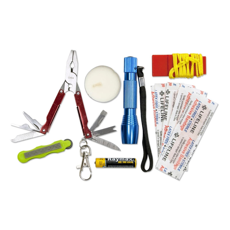 Weather Resistant Survival Kit Contents
