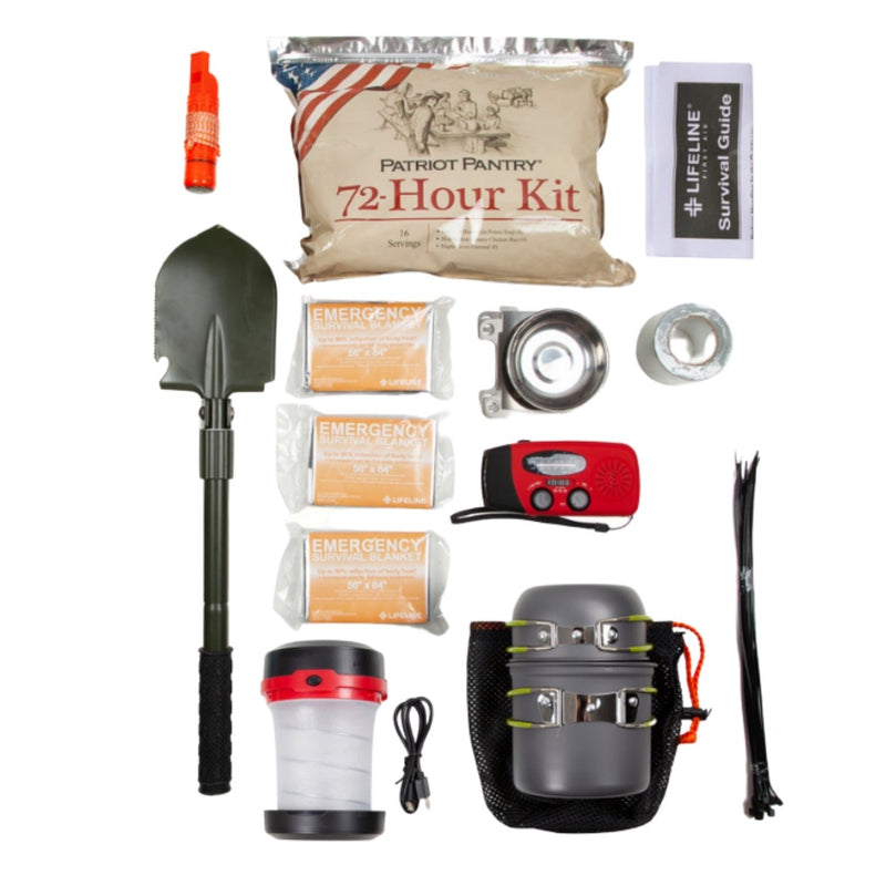 Tactical Survival Unit - 72 Hour Preparedness Contents 1