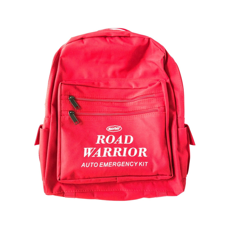 Economy Road Warrior Car Emergency Kit Backpack