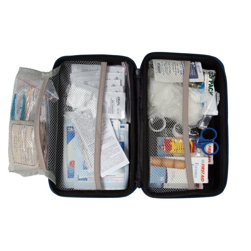 Deluxe First Aid Kit Case Open