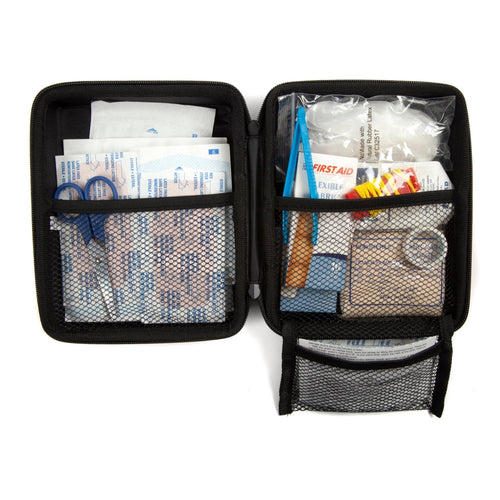 AAA Commuter Auto First Aid Kit Case Open