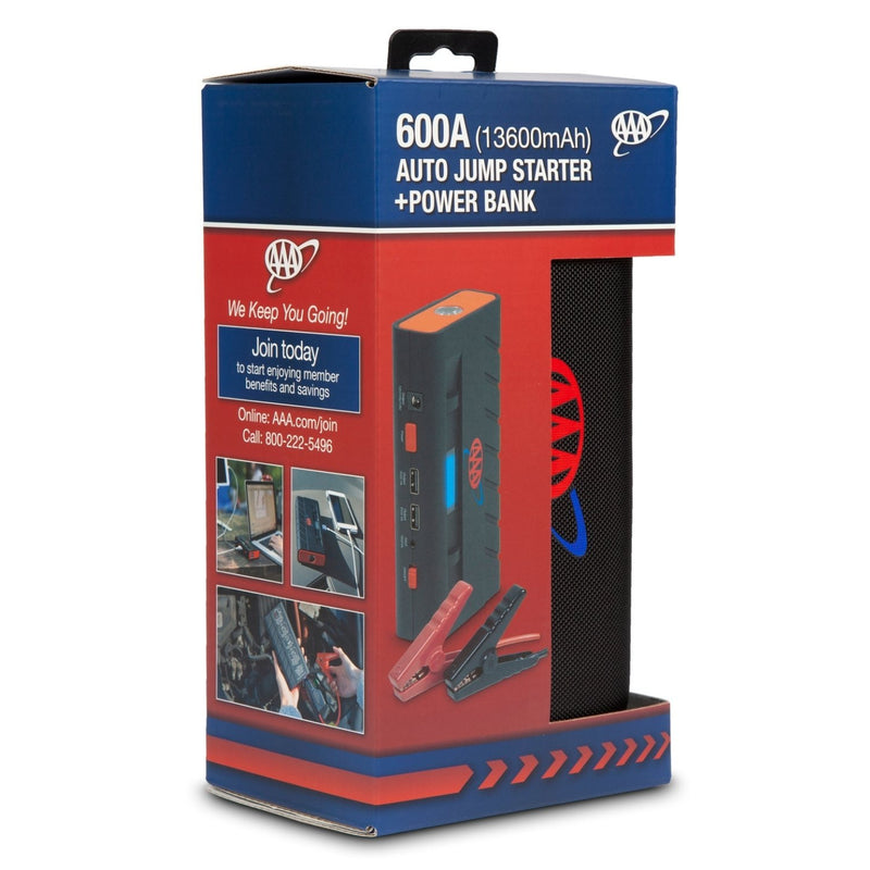 AAA Mini Auto Jump Starter + Powerbank 600A Box