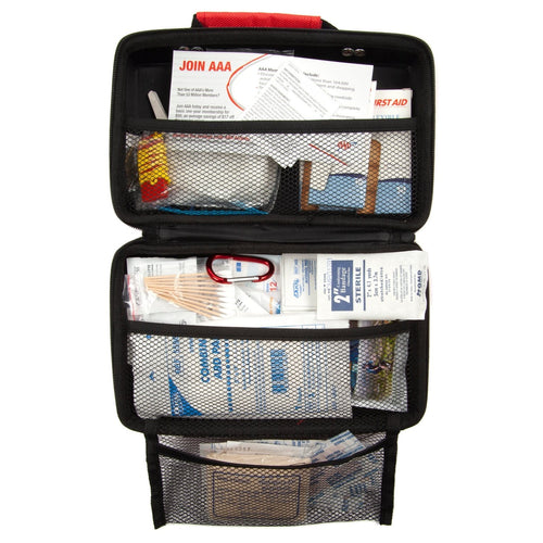 AAA Road Trip Auto First Aid Kit Case Open