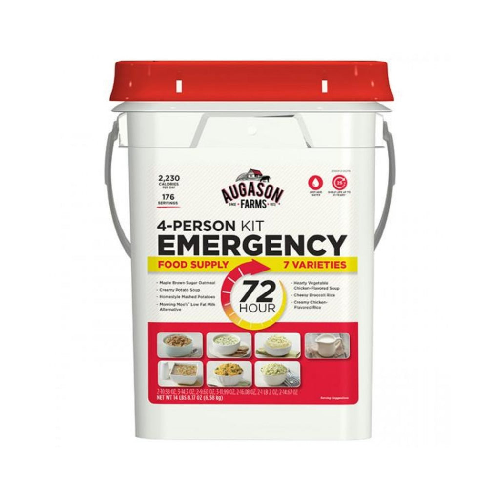 72 Hour 4-Person Emergency Food Supply