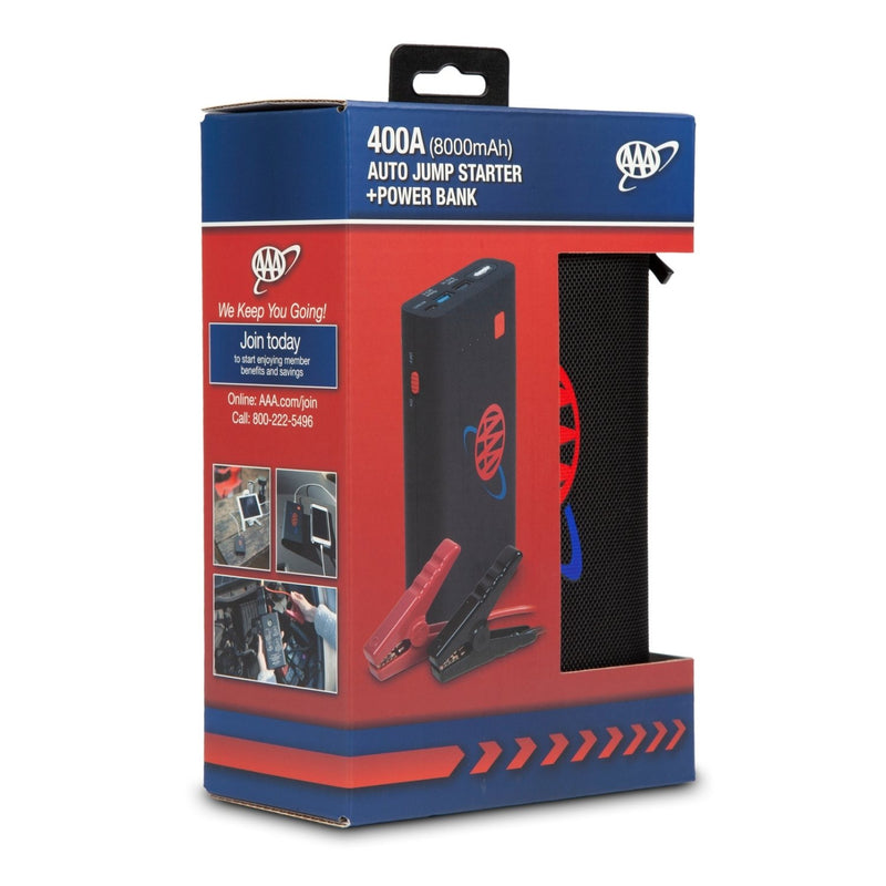 AA Mini Auto Jump Starter + Powerbank 400A Box