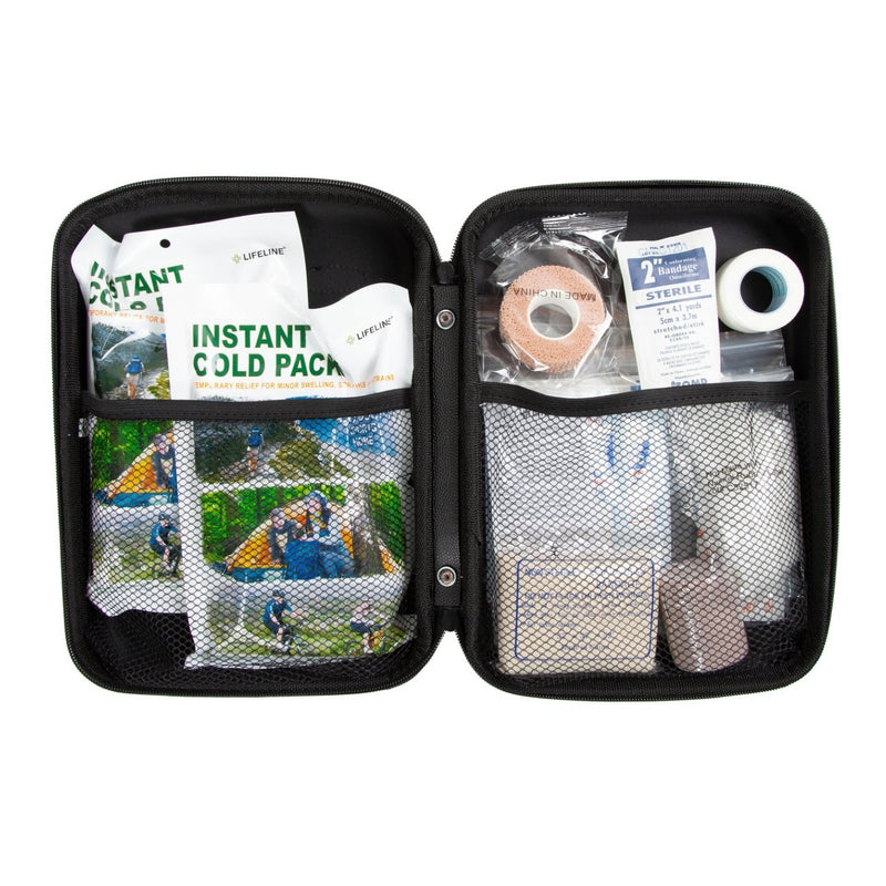 Team Sports Trainer First Aid Kit Case Open