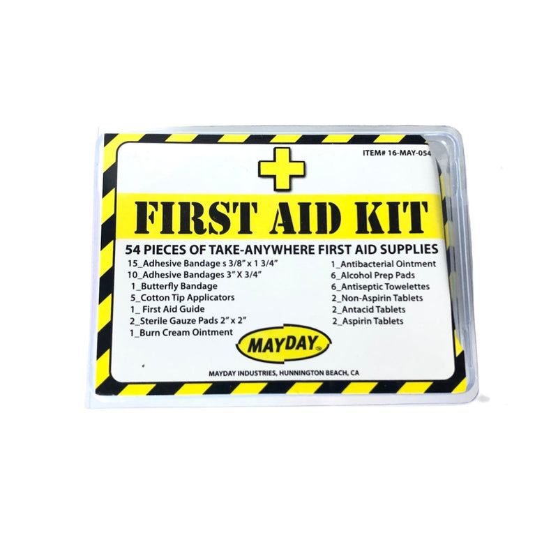 54 piece first aid kit by Mayday