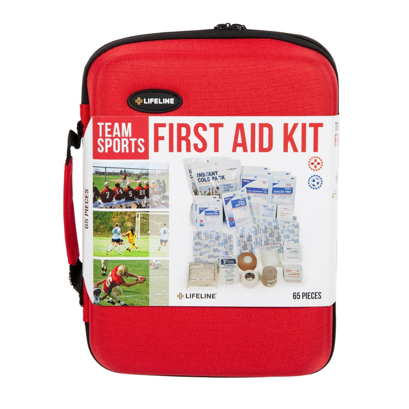 Team Sports Trainer First Aid Kit Case Closed