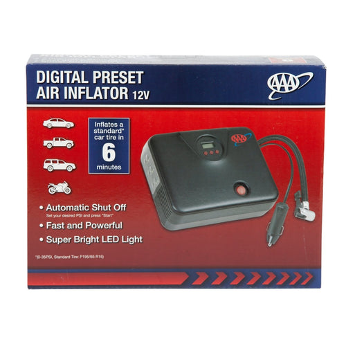 AAA Digital Preset Air Inflator Box