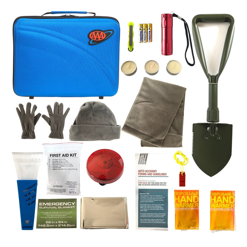 AAA Winter Roadside Emergency Kit