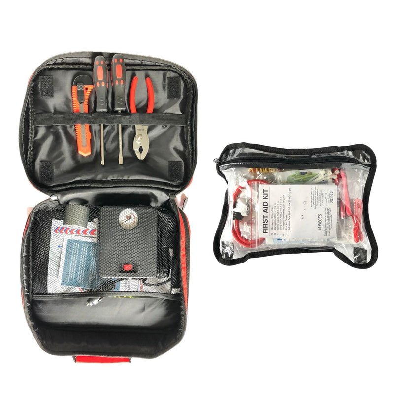 AAA Excursion Roadside Emergency Kit Case Open