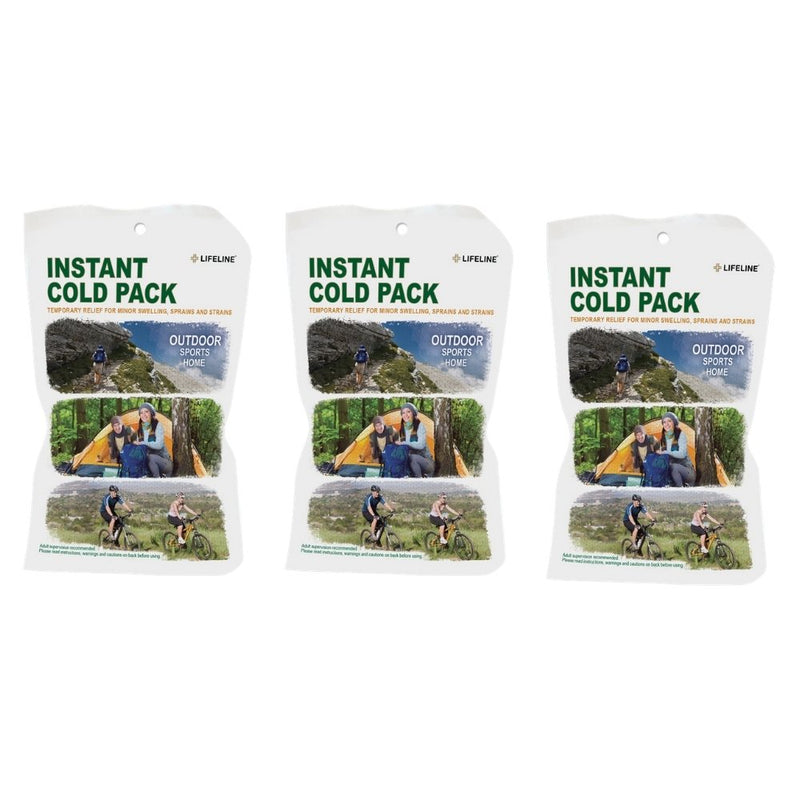 Team Sports Coach's First Aid Kit Instant Cold Packs