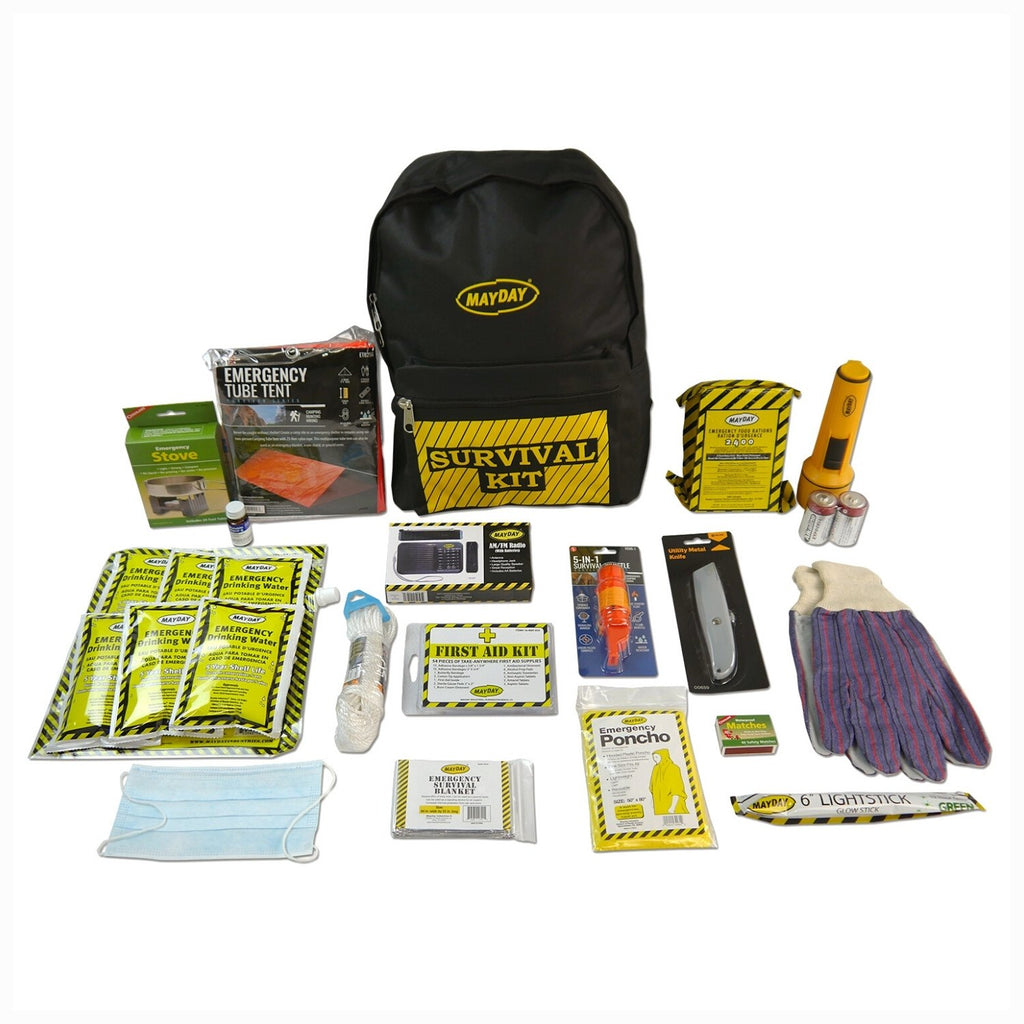 Deluxe 1 Person Survival Backpack