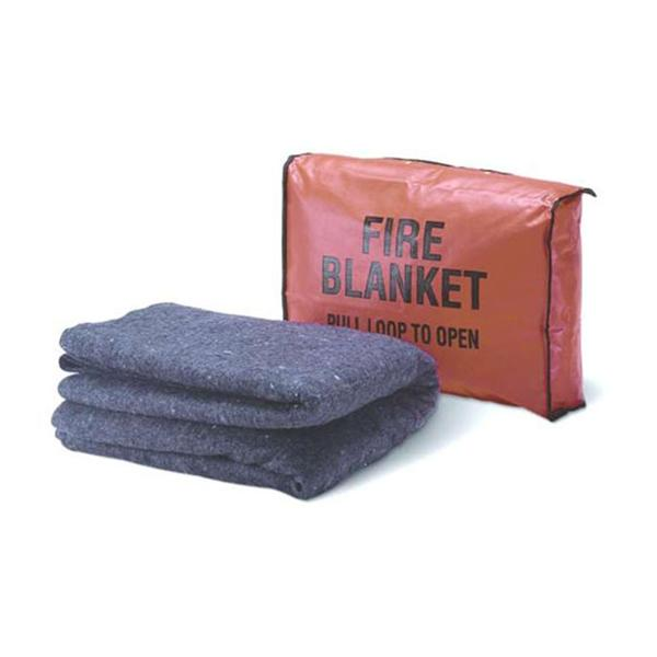 Woven Cloth Fire Blanket with Case