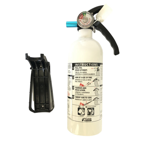 Kidde Auto Fire Extinguisher with bracket.